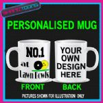 NO.1 NUMBER ONE LAWN BOWLS BIRTHDAY GIFT COFFEE MUG